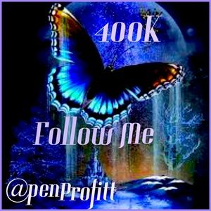 Follow me to 400K reached 375K